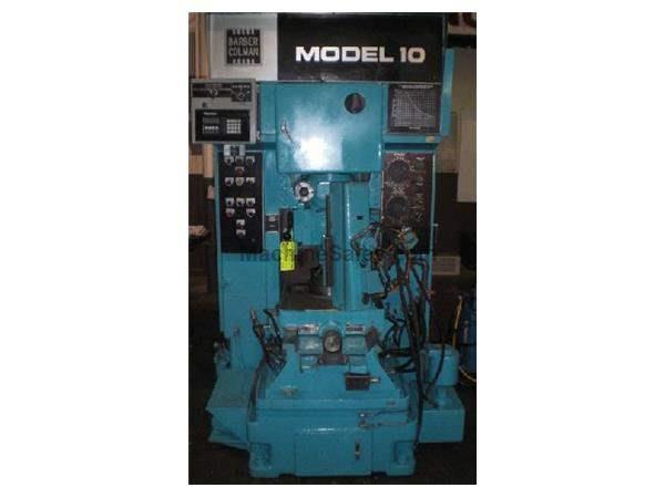 MODEL # 10-4 BARBER COLMAN VERTICAL GEAR SHAPER