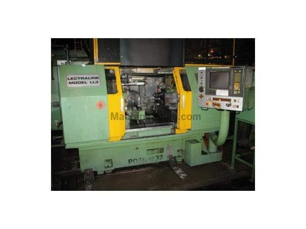 BRYANT MODEL LL3-50 LECTRALINE UNIVERSAL 2-AXIS CNC INTERNAL GRINDER, 1993