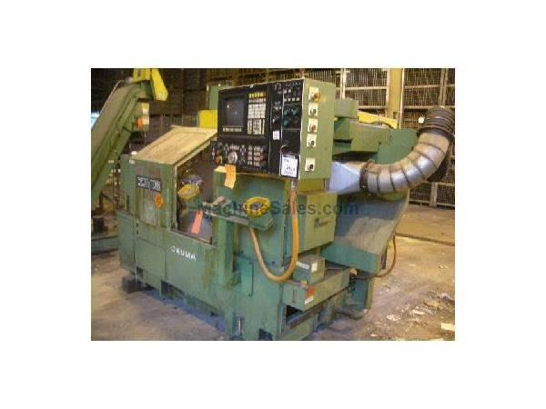 OKUMA MODEL LB-15 CNC CHUCKING LATHE
