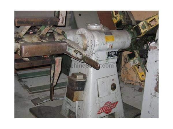 "2000 Lb. X 12"" X .156, LITTELL MODEL 20-12, DOUBLE END COIL REEL, STRAIGHTENER"