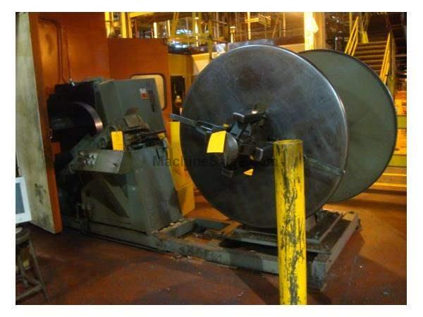 "4000 Lb X 12"" X .060, LITTELL 40-12 DOUBLE END REEL AND MINSTER 2400-12-17, 80"