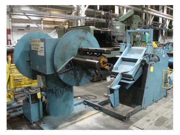 "10000 Lb. X 30"" X .156 COE DOUBLE END REEL & STRAIGHTENER, 60""OD, 1992"