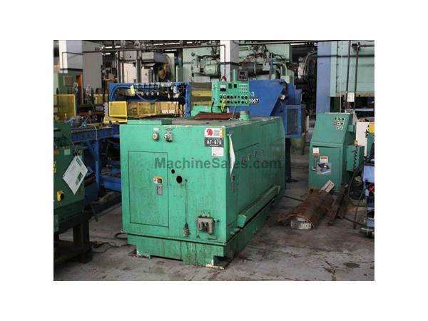 "1/4"" X 3"", ASAHI SUNAC, No. AT-675, COLD HEADER, 240 PPM, CONTROL PANEL, 1998,"