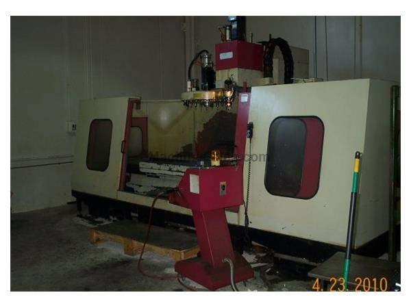 "80""X, 35""Y, 31""Z, JOHNFORD VMC-2024, 82.9"" X 34"" TABLE, 6000 RPM, FANUC OM-C"