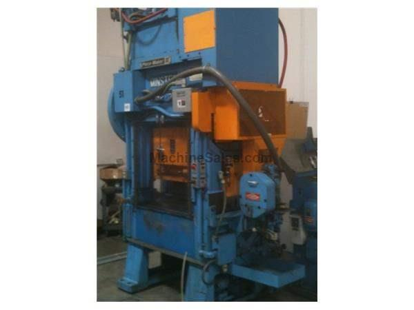 "30 Ton, MINSTER PM-2 PIECEMAKER, 1.25""STR, 9.75""SH, 30""X20""BA, 0-1000SPM, FEED"