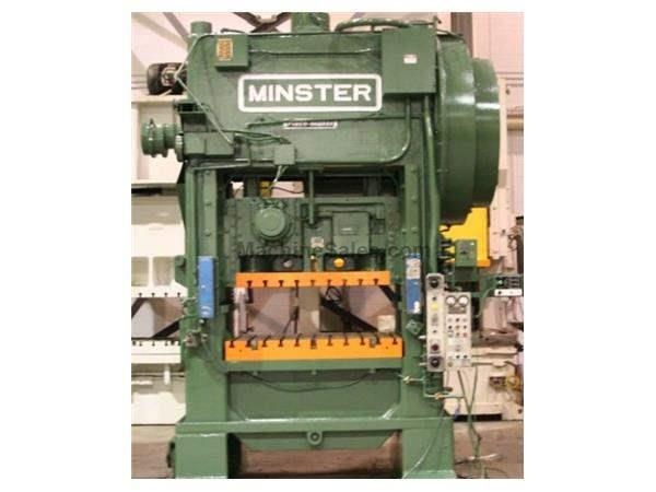 "150 Ton, MINSTER, P2-150-54, 6""STR, 23""SH, 45-90 SPM, 4""ADJ, VIDEO AVAILABLE"