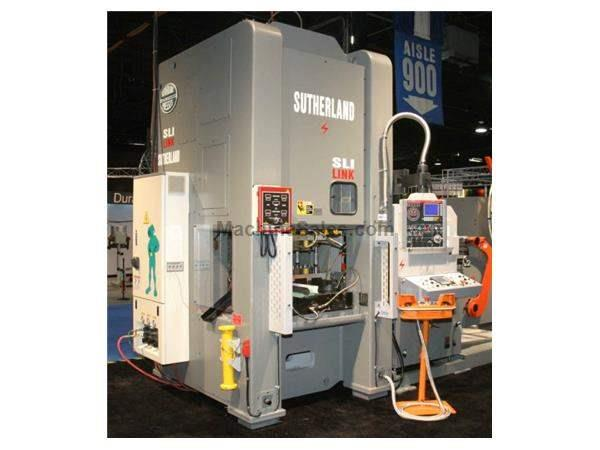 "132 Ton, SUTHERLAND SL1-132-48, 6""STR, 15""SH, 36""X24""BA, 40-80SPM, DEMO PRESS"