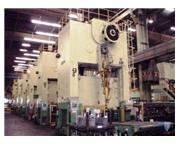 900 Ton, WEINGARTEN/KRUPP PRESS LINE, (7) PRESSES, DEEP DRAW, CUSHION, 3M TABLE