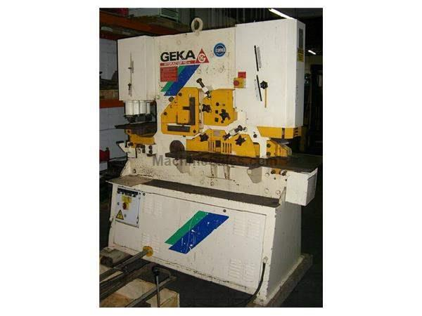 "110 TON,GEKA HYDRACROP 100, 12""THROAT, 2""X3-1/2"" NOTCHER-COPER,"