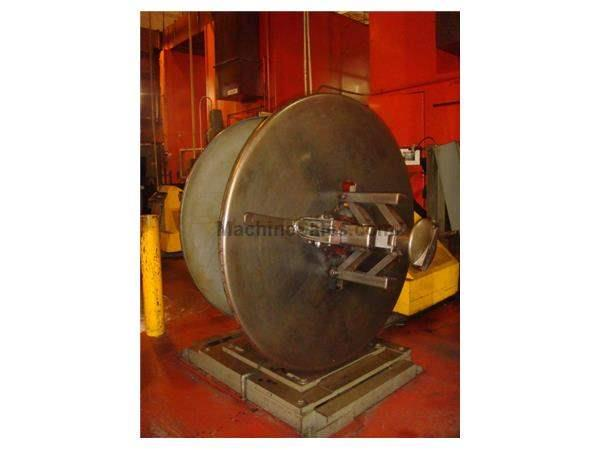 "4000 Lb., LITTELL, No. 40-12 DOUBLE END,12""WIDE X60"" O.D.ELEC BRAKE,1980"
