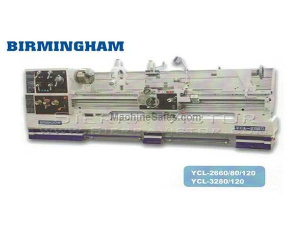"32"" x 120"" BIRMINGHAM® High Speed Precision Gap Bed Lathe"