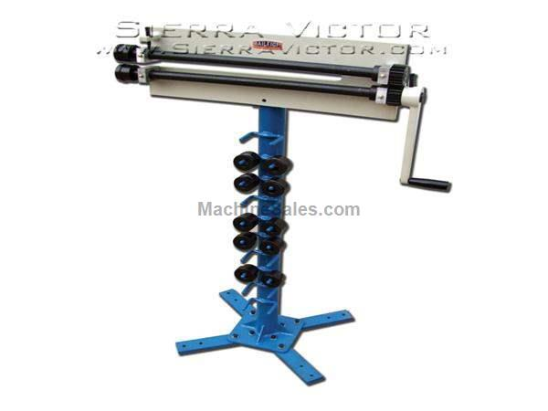 "18 ga. x 18"" BAILEIGH® Manual Metal Bead Roller"