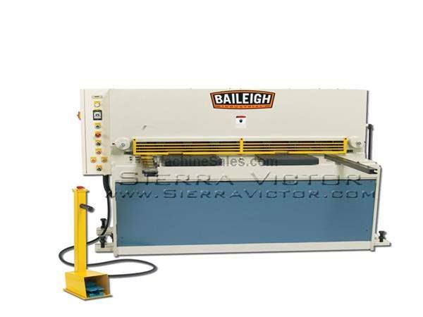 "4' (52"") x 10 ga BAILEIGH® Hydraulic Sheet Metal Shear"