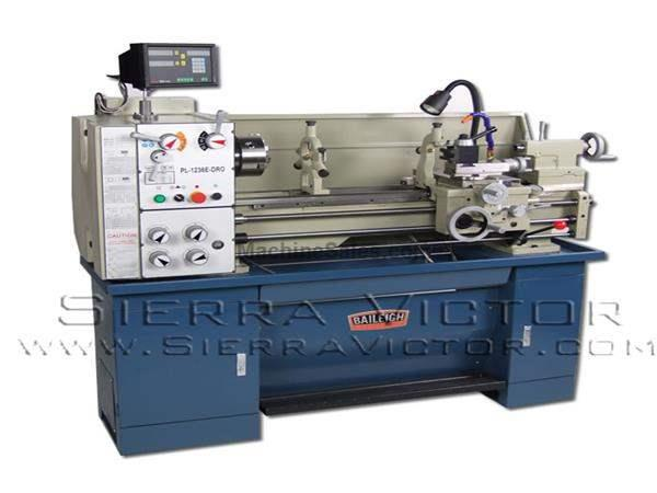 "12"" x 36"" BAILEIGH® Economy Class Engine Lathe with DRO"