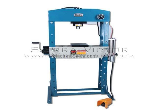 50 Ton BAILEIGH® Hydraulic Shop Press
