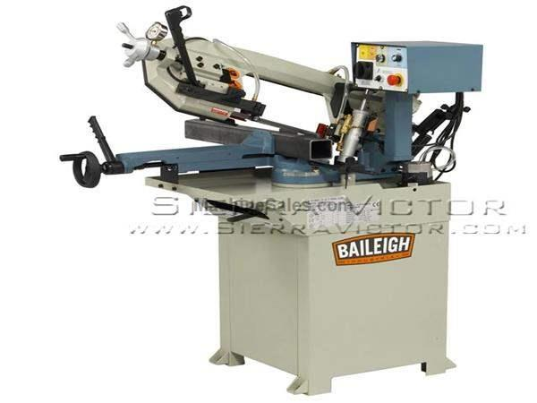 "7"" x 8-1/4"" BAILEIGH® Horizontal Band Saw"