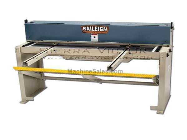 "52"" (4') x 16 ga BAILEIGH® Foot Sheet Metal Shear"