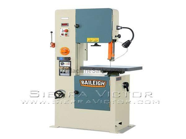"20"" BAILEIGH® Variable Speed Vertical Band Saw"