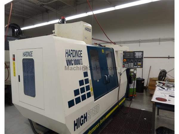 Used 2001 Hardinge Bridgeport VMC1000 II Vertical Machining Center