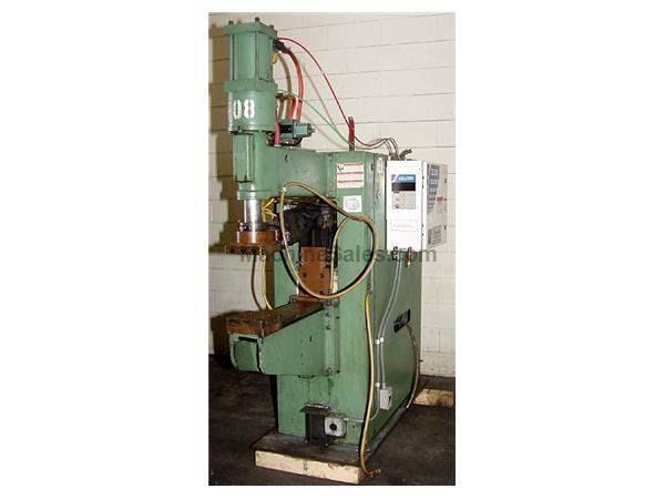 "100 KVA 18"" Throat Sciaky PMC01T SPOT WELDER, Unitrol Control, Projection Welder"