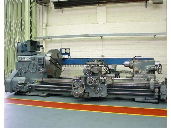 "46"" Swing 108"" Centers LeBlond Type 4628 Heavy Duty ENGINE LATHE, 60 HP, FacePLate w/Jaws, Hardened Bed Ways,Beauty!"