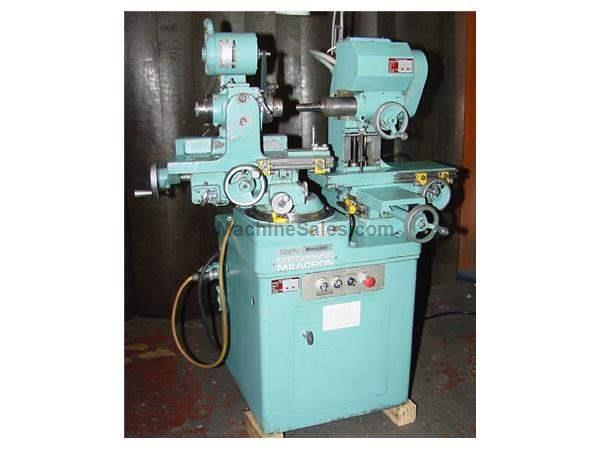 Cincinnati-Milacron MONOSET MODEL MT TOOL & CUTTER GRINDER, MTRZ'D WORKHEAD, HARD WAYS & SCREWS, FULLY TOOLED