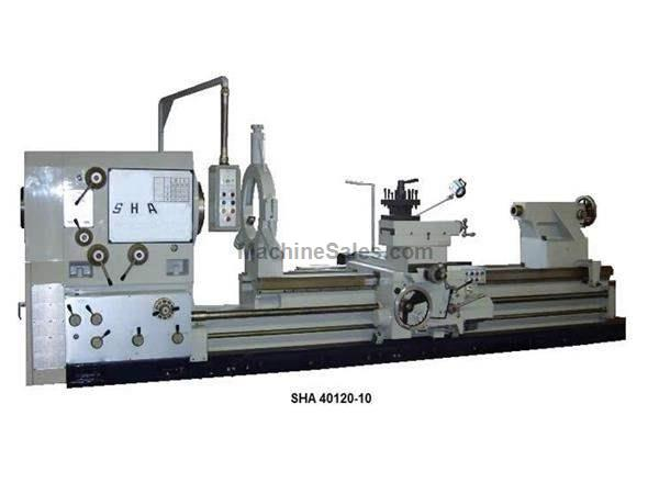 "40"" Swing 120"" Centers Willis SHA 40120-10 ENGINE LATHE, 30 HP, 10"" spindle bore, A2-15 spindle"