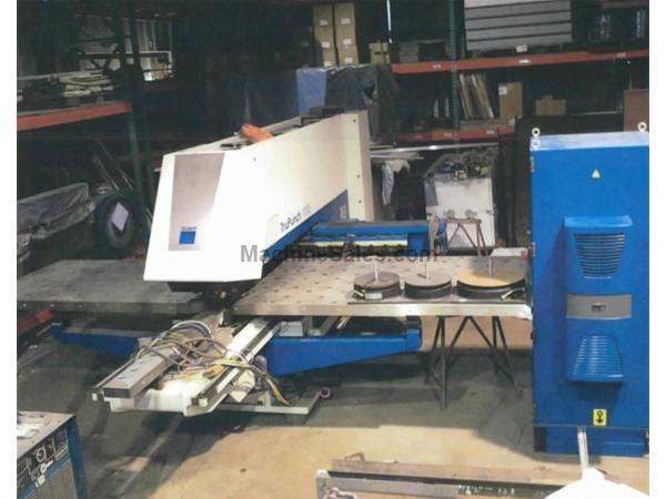 19 Ton Trumpf CNC Punch And Contouring Machine