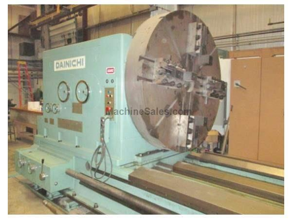 "82"" x 590"" Dainichi WW III Manual Lathe"