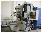 "No. MP-43,SIP Hauser CNC,Fanuc 21I-M,X-26"",Y-18"",Z-21.6"",(New-1999)Retrofit"