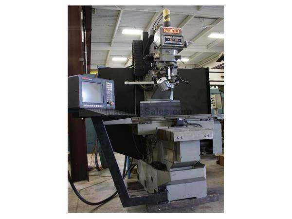 "HH Roberts TW-96B,Anilam 330MK CNC,5 HP,32""X,20""Y,21""Z,Cat 40,Power Draw Bar,'98"
