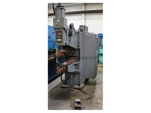 "150 KVA,Sciaky,SPTQ3,440V,42"" Throat,90k Amp,Retract Adj. 1""-4"",Cntrl Upgrade 93"