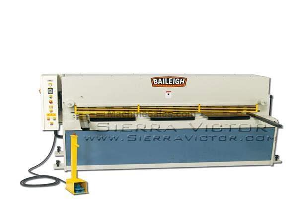 "6-1/2' (80"") x 8 ga BAILEIGH® Hydraulic Metal Shear"
