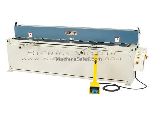 "6-1/2' (80"") x 14 ga BAILEIGH® Hydraulic Metal Shear"