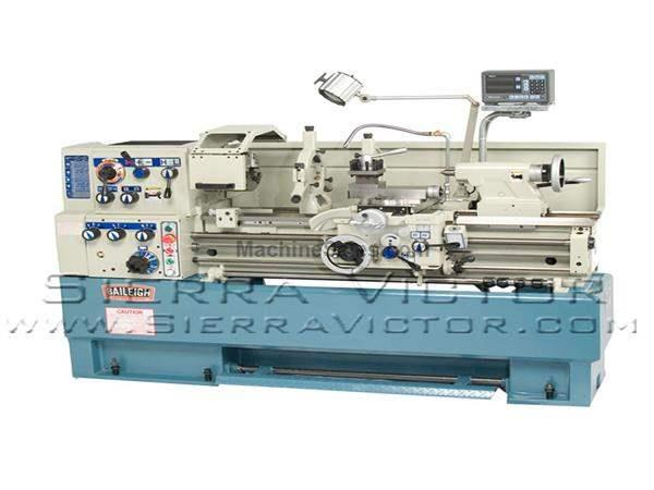 "16"" x 40"" BAILEIGH® Precision Gear Head Engine Lathe"