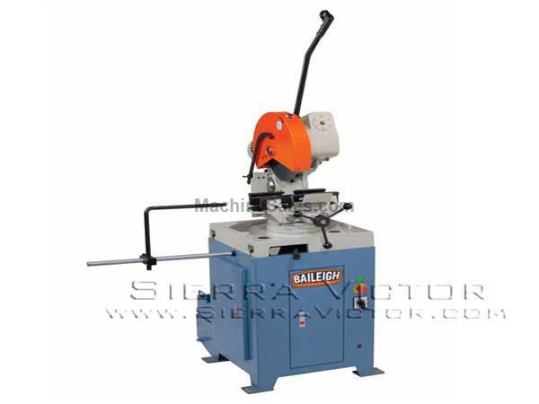 "14"" BAILEIGH® Manually Operated Cold Saw"