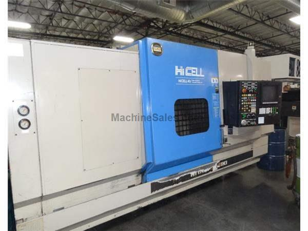 Used 1997 Hitachi Seiki CA-40 Hicell Multi Axis Turning Center