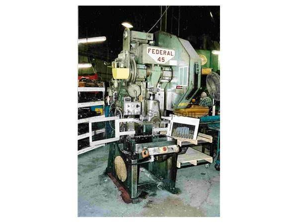 FEDERAL #45 OBI FLYWHEEL TYPE 45 TON CLUTCH PUNCH PRESS