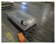 "1500 LB AMERICAN LIFTS ELECTROHYDRAULIC 60"" X 36"" SCISSOR LIFT TA"