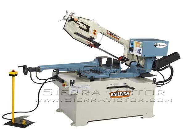 "11"" BAILEIGH® Dual Miter Semi-Auto Band Saw"