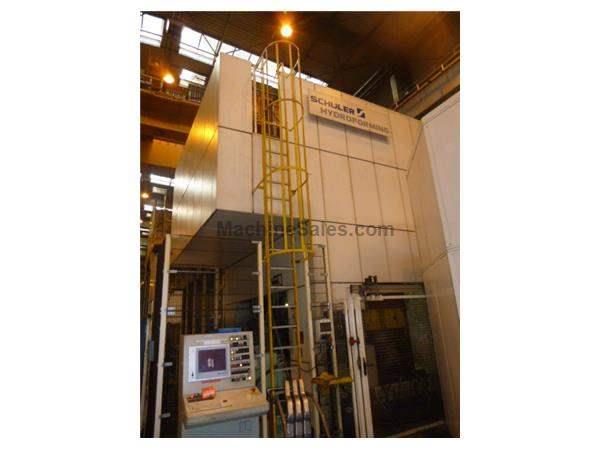 5000 TON SCHULER HYDRAULIC HYDROFORM PRESS, MODEL SHP 50000 / 3150 x 2150,