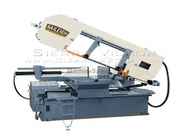 "18"" BAILEIGH® Semi-Automatic Dual Mitering Band Saw"