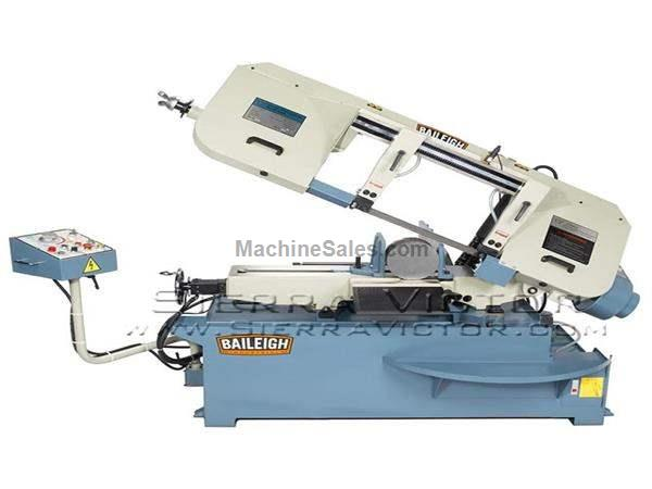 "13"" BAILEIGH® Single Miter Semi-Auto Band Saw"