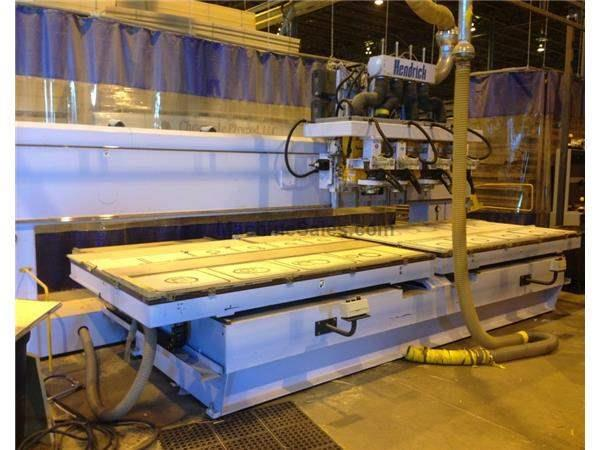 Used Hendrick 60ZXV CNC Router