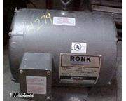 Used Ronk 5 HP Rotary Phase Converter