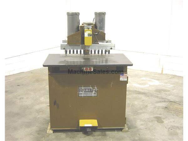 Used Ritter Model R-46-SP Double Row Boring Machine