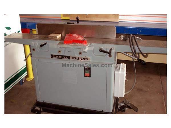 Used Delta DJ-20 Jointer