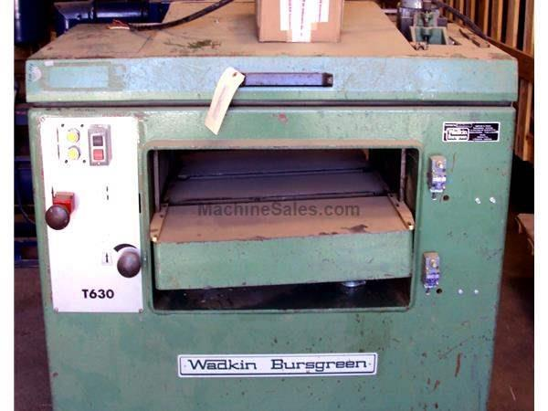 Used Wadkin Bursgreen model T630 Planer