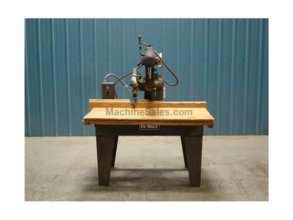 Used Dewalt GA 510 Radial Arm Saw