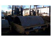 2002 CAT CS563D 84 INCH. SMOOTH DRUM COMPACTOR,  9MW01093  2423 HRS